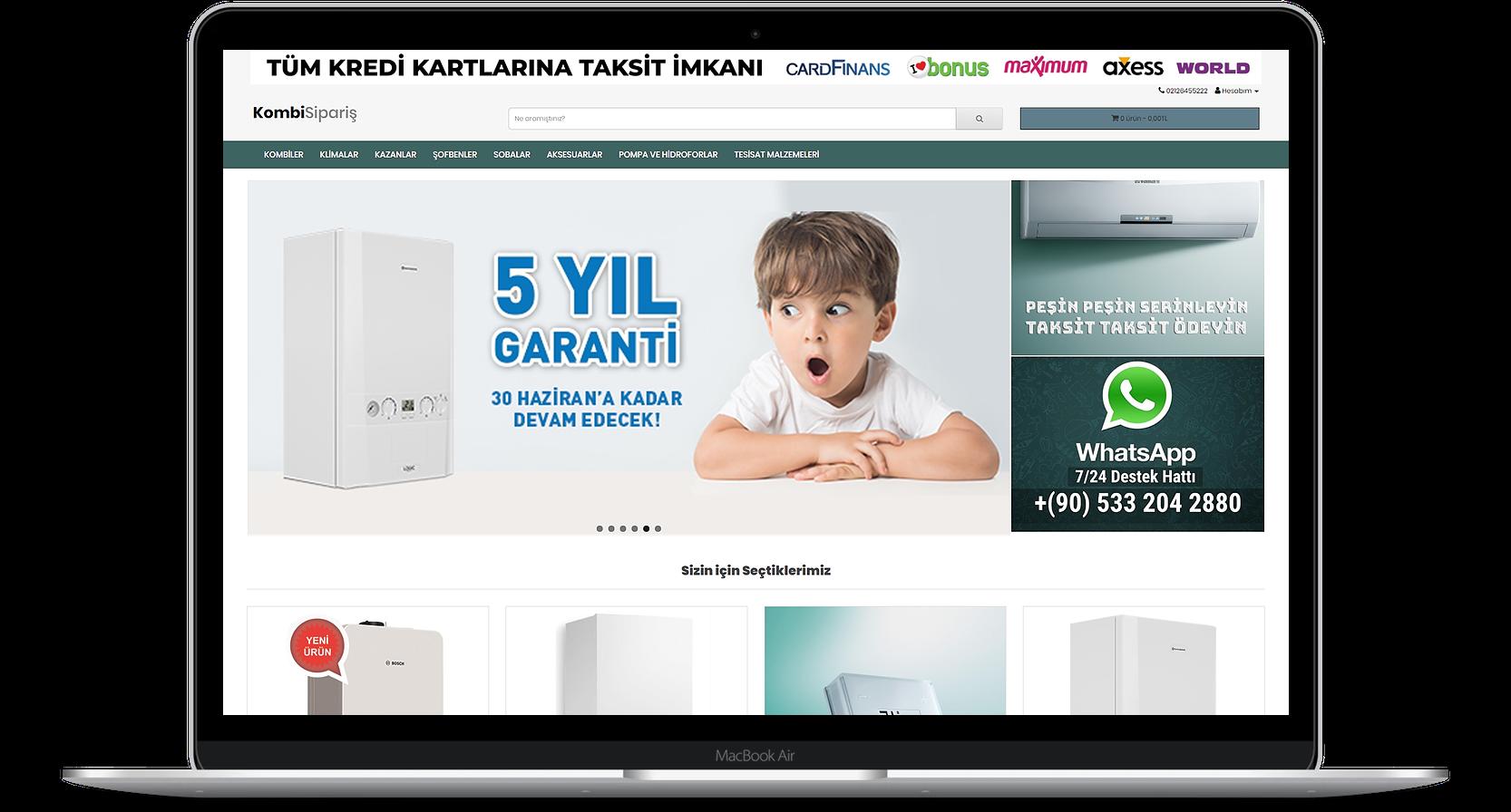 KombiSiparis.com